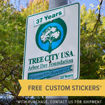 Picture of Tree City USA Road Sign