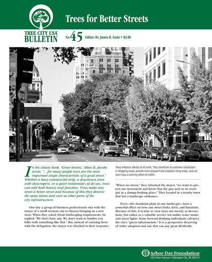 #45: Trees for Better Streets