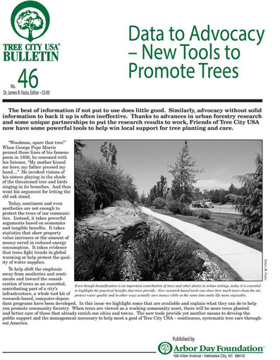#46: Data to Advocacy - New Tools to Promote Trees