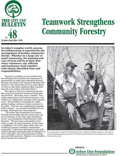#48: Teamwork Strengthens Community Forestry