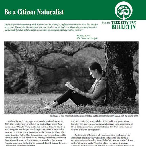 Be a Citizen Naturalist
