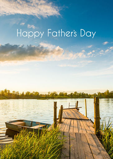Picture of Happy Father's Day - Dock