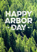 Picture of Happy Arbor Day - Shovels