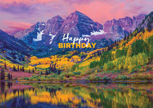 Birthday Maroon Bells