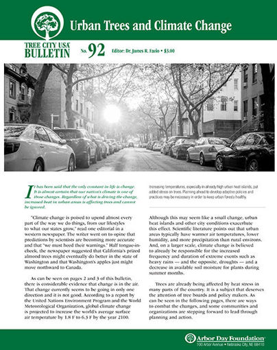 #92: Urban Trees and Climate Change