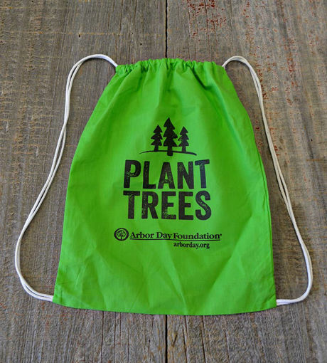 Picture of Plant Trees Cotton Backpack