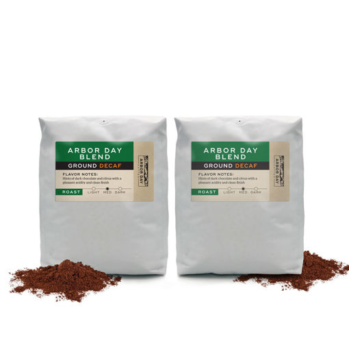 Picture of Arbor Day Blend, Ground Decaf, 5 lb. Bag,  2 Count