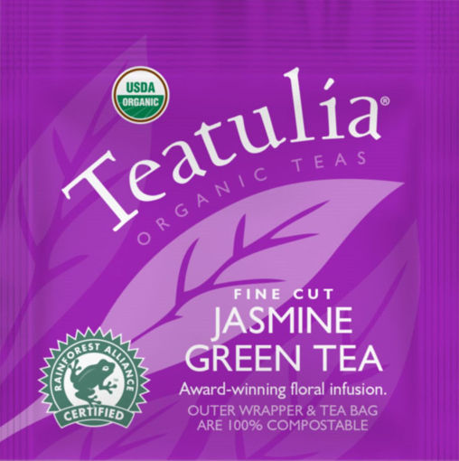 Picture of Teatulia Jasmine Green Tea, Wrapped Standard, 50 Count