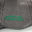 Picture of Plant Trees Embroidered Hat-Grey