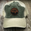 Picture of Plant Trees Leather Patch Hat-Olive/Khaki