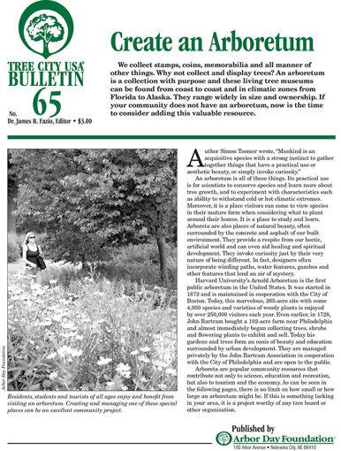 Picture of #65 Create an Arboretum