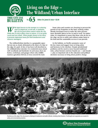 Picture of #63 The Wildland-Urban Interface