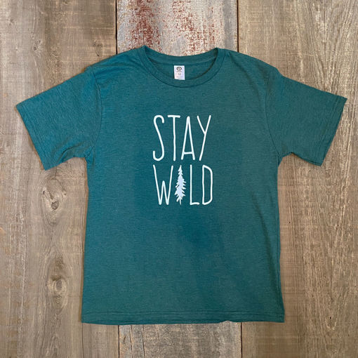 Picture of Youth Stay Wild T-Shirt