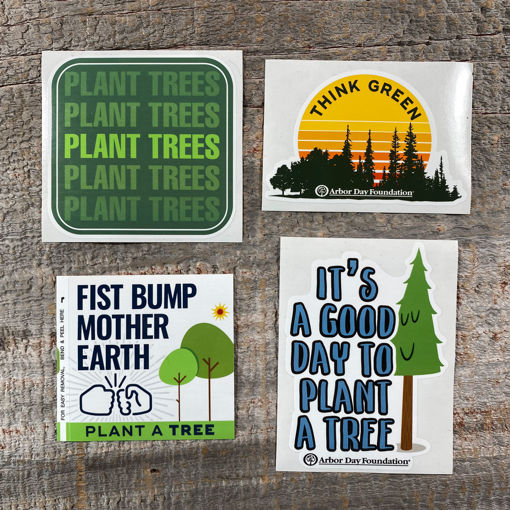 Picture of Fist Bump Mother Earth Vinyl Sticker Pack