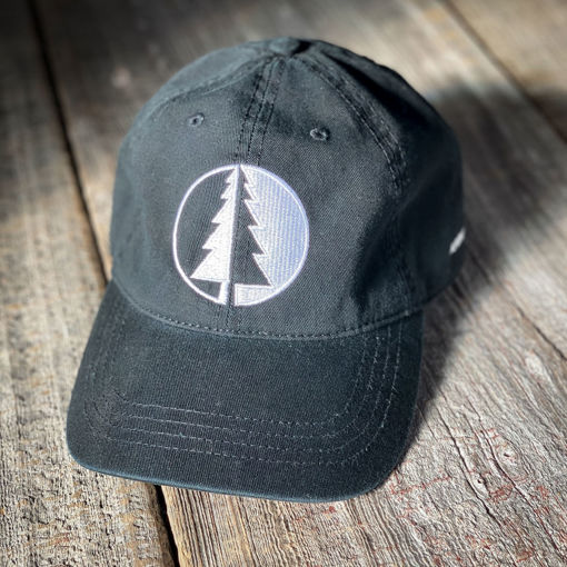 Picture of Black Geometric Tree Hat