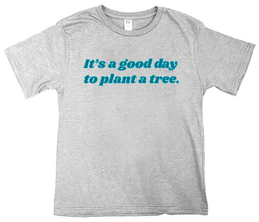 Picture of Youth Good Day to Plant A Tree T-Shirt