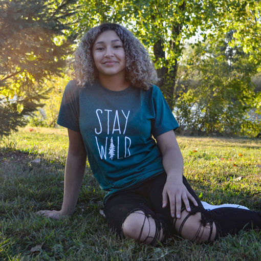 Picture of Stay Wild Short Sleeve T-Shirt